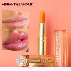 VIBRANT GLAMOUR Natural Honey Lip Balm Colors Ever-changing Lipstick Long Lasting Moisturizing Lipstick Anti Aging Makeup Lip Care