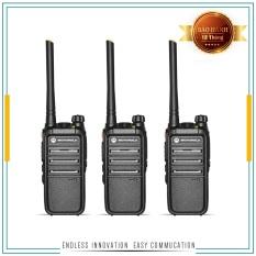 Bộ 3 Bộ đàm Motorola CP318 – Siêu Bền Cự Ly 1Km Nội Thành