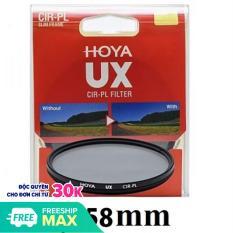Kính lọc Hoya Filter 58mm UX CPL Slim (Circular Polarizer)
