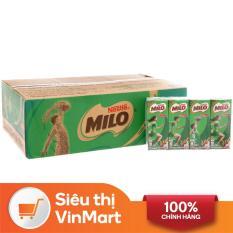 [Siêu thị VinMart] – Thùng 48 hộp sữa uống lúa mạch Milo Nestlé 180ml