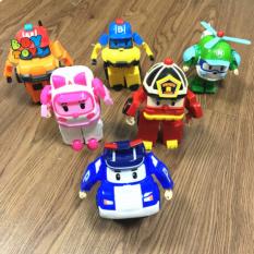 Đồ chơi biến hình biệt đội Robocar Poli 2 trong 1 cho bé thỏa sức sáng tạo, vừa chơi oto và biến hình robot poli