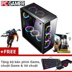 Máy tính chơi game Core i7-4770, Ram 12GB, SSD 120GB, HDD 500GB, GTX 750ti 2GB + Quà Tặng