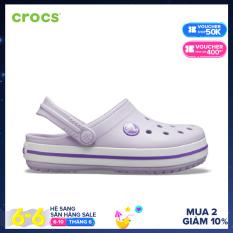 CROCS Giày Clog Trẻ Em Crocband Electric 204537