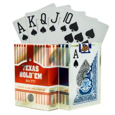 [NEW] Bài Tây Nhựa Poker Texas Hold'em 777 100% Plastic