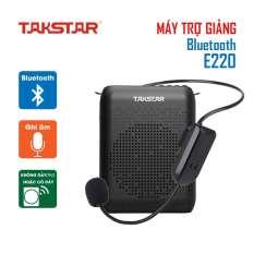 [Nhập EXCLUSIVEW501 giảm 10% tối đa 300k] Máy trợ giảng Takstar E220 có dây Không dây Bluetooth ghi âm nghe nhạc FM hướng dẫn viên Giáo viênbán hàng
