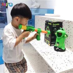 Bắn bóng bông nhắm mục tiêu con vật ngộ nghĩnh cho bé