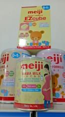 Combo 3 lon Sữa bột dành cho mẹ bầu Meiji Mama Milk Nhật Bản 350g