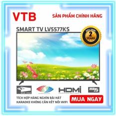 Smart Karaoke TV VTB 55 inch Kết nối Wifi LV5577KS ( 4K, Android, Youtube, Tích hợp DVB-T2, Karaoke Offline ) – Bảo Hành 2 Năm Tận Nhà