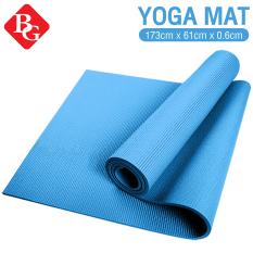 BG Thảm tập Yoga cao cấp Thái Lan loại dày 6mm TPE