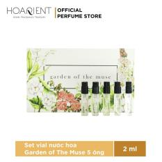 Set Vial 5 Nước Hoa Garden Of The Muse 2ml x 5