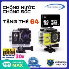 [Nhập ELJAN12 giảm 10%, tối đa 200k, đơn từ 99k][ TẶNG THẺ NHỚ 64GB ] Camera hành trình 2.0 FULL HD 1080P Cam A9 LƯU TRỮ 64GB – Camera hành trình chống nước – camera hành trình xe máy phượt