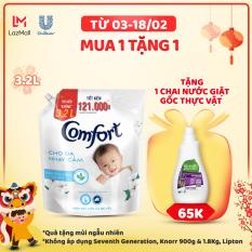 Nước xả vải Comfort Cho Da Nhạy Cảm Túi 3.2L – Phù hợp với cả em bé