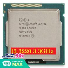 Bộ vi xử lý cpu intel core i3 3220 socket 1155 sử dụng cho main h61, B75, Q77….. Bảo hành 3 tháng