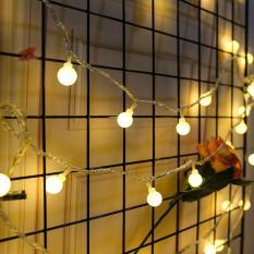 Dây led nháy Nhiều màu hình bóng đèn mini – 4m – 16 bóng KamiHome