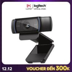 [Nhập mã EXCLUSIVE giảm 10%] Webcam Logitech C920 Pro HD 1080p
