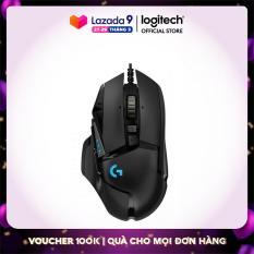 Chuột Game Có Dây Logitech G502 HERO – Sử dụng cảm biến HERO 16K, 11 nút có thể lập trình, Công nghệ LIGHTSYNC RGB, Trọng lượng có thể điều chỉnh