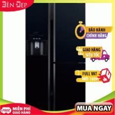 [TRẢ GÓP 0%] Tủ lạnh 3 cánh Inverter 584 Lít HITACHI R-FM800GPGV2 (GBK) Miễn phí giao hàng tại Hà Nội