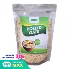 Yến mạch Úc rolled oats cán mỏng túi 1Kg giúp giảm cân, tăng cơ, đẹp da, bé ăn dặm