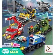 [MUA 4 TẶNG 1] Đồ chơi lắp ráp ô tô, máy bay 8612, Đồ chơi lego, đồ chơi lắp ráp, đồ chơi xếp hình, xe đồ chơi, police car toys, chất liệu nhựa ABS an toàn – One shopx