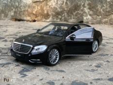 Xe mô hình Mercedes-Benz S-Class – Chính hãng WELLY – Tỉ lệ 1/24