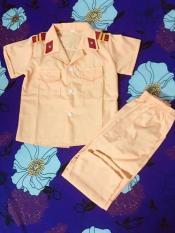 Bộ quần áo công an cho bé – Không PK
