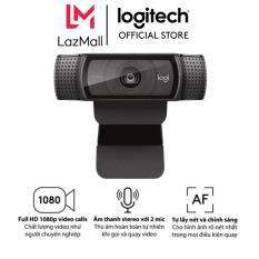 Webcam Logitech C920 Pro HD 1080p – dành cho PC, Mac, ChromeOs, Android, Skype, Google Hangouts, FaceTime, chất lượng Full HD 1080p, 30-fps, Âm thanh Stereo, 2 mic 2 bên, Kẹp có thể điều chỉnh