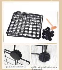 Tấm Lưới Sắt Lắp Ghép Thông Minh Đa Năng Tiện Lợi 35 x 35 cm