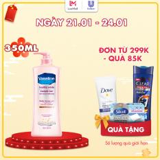 Sữa Dưỡng Thể Vaseline Trắng Da Tức Thì (350ml)