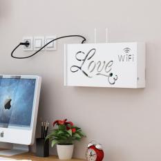 Hộp kệ modem Wifi họa tiết chữ Love – IG346
