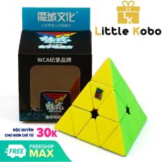 Rubik Pyraminx Stickerless MoYu MeiLong MFJS Rubik Tam Giác