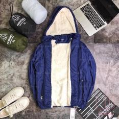 áo khoác phao lót lông nam ấm áp nhiều mầu lựa chọn