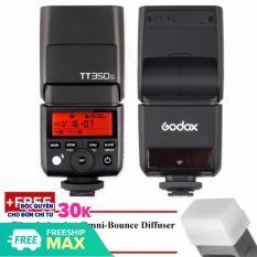 [Nhập LZDEL51 giảm 10% tối đa 200k cho đơn 99k] Đèn Flash Godox TT350F Cho Fujifilm GN36 Auto TTL Hss 1/8000s