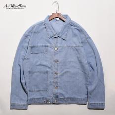 ROUTINE áo denim jacket phong cách mới lạ