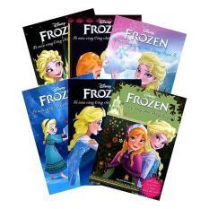Bộ 6 quyển – Sách tô màu: Công chúa băng tuyết – NXB Kim Đồng