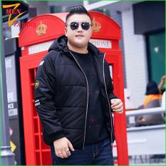 áo khoác phao nam big size dành cho người mập người béo bụng