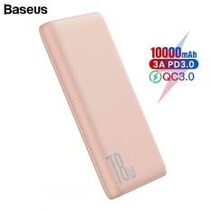 Pin dự phòng sạc nhanh Baseus Bipow 10000mAh tích hợp PD/QC công suất lên đến 18W 3 cổng sạc QC3.0+PD3.0 sạc nhanh 2 chiều
