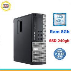 Cây máy tính đồng bộ DELL Optiplex 7010 core i5 3470, ram 8GB, ổ cứng SSD 240GB-Bh 24T