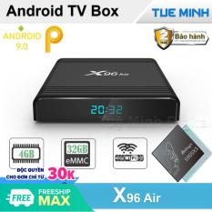 Android TV Box X96 Air – Amlogic S905X3, 32GB bộ nhớ trong, 4GB Ram, Android 9