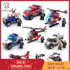 Đồ chơi trẻ em xếp hình lego city cao cấp xếp hình lắp ráp các loại ô tô từ 78 đến 93 chi tiết nhựa abs cao cấp cho bé từ 5 tuổi trở lên