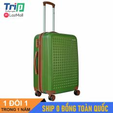 [MIỄN PHÍ SHIP] Vali nhựa TRIP P803A Size 24inch/ Vali du lịch TRIP Size ký gửi hành lý, đựng 15kg -25kg