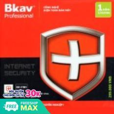 [Nhập LZDEL51 giảm 10% tối đa 200k cho đơn 99k] Phần mềm diệt virut Bkav Pro Internet Security 1000000319 phần mềm tiên phong trong sử dụng công nghệ điện toán đám mây trong lĩnh vực bảo mật