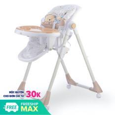 Ghế cao ăn dặm cho bé Fatzbaby FB7202B Hàn Quốc cho bé từ 6 tháng đến 3 tuối – tải trọng 30kg