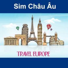 Sim Châu Âu 3G/4G Sim Du Lịch Châu Âu 30 NGÀY – 12GB