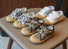 Giày thể thao da beo cá tính cho bé