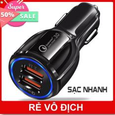 tẩu sạc oto tau sac xe tẩu sạc USB cốc sạc dock sạc tẩu sạc củ sạc đa năng cho xe hơi xe ôtô 2 cổng USB màn hình LED hiển thị điện áp
