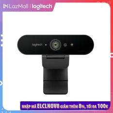 [Nhập ELCLNOV8 giảm thêm 8%]Webcam Logitech Brio 4K – Webcam 4K với HDR và hỗ trợ Windows Hello, Dành cho Streaming HD Webcam 1080p, Gọi/Quay video,