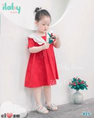❤❤ Váy bé gái phong cách basic cổ bèo siêu xinh – VBG-Basic