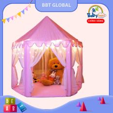 Nhà bóng công chúa lớn cho bé BBT Global có rèm 140cm 1385