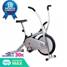 Xe đạp tập thể dục Airbike MK98 (Xám) – Hàng thanh lý