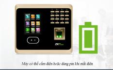 máy điểm danh vân tay,máy chấm,Máy Chấm công Nhận diện khuôn mặt + dấu vân tay + Mật khẩu ZKTeco, kết nối wifi, kiểm soát dễ dàng – Hàng Nhập Khẩu Chính Hãng, Bảo hành 12 tháng, hỗ trợ miễm phí giao hàng toàn quốc